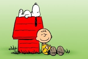 Charlie brown et snoopy