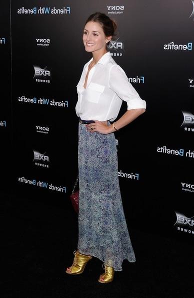 Olivia Palermo jupe longuet