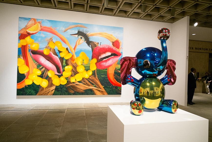 jeff Koons elephant