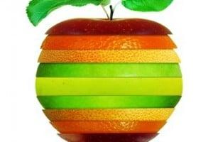 vitamine - fruit en coupe