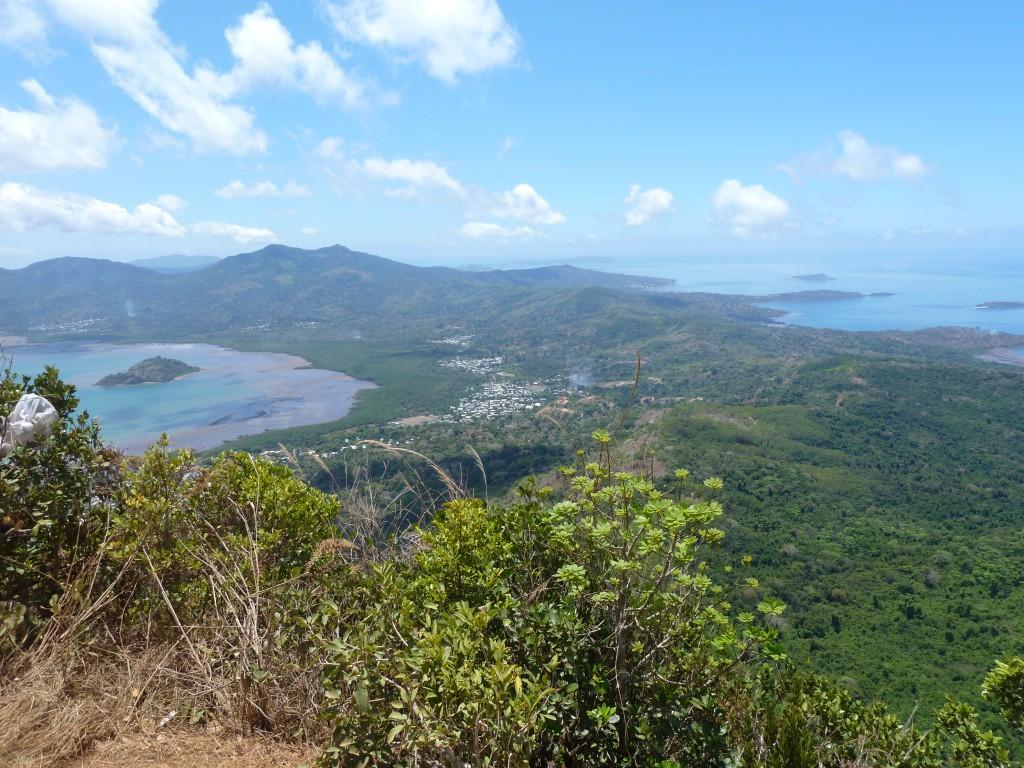Panoramique de l'île de mayotte
