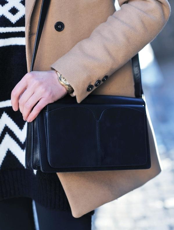 sac à main d'hiver