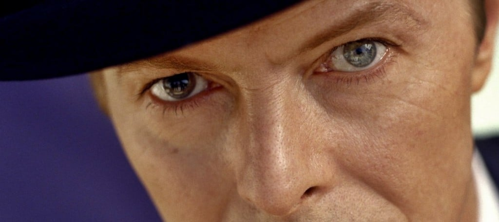 David Bowie yeux