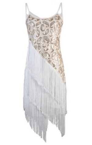 robe annee 20 glamour