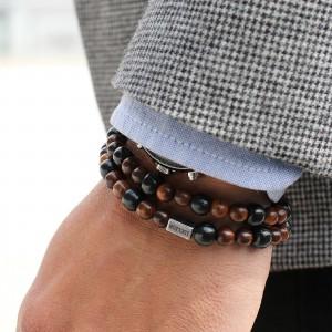 bracelet à perles homme