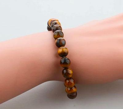 bracelet oeil tigre